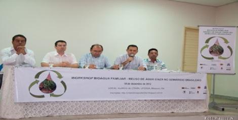 materia - PROJETO DOM HELDER E UFERSA DEBATEM IMPORTÂNCIA DO REUSO DA ÁGUA
